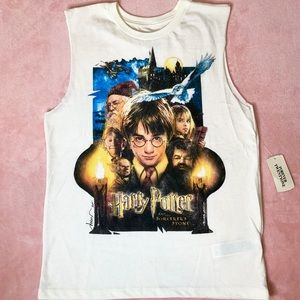Harry Potter Graphic Muscle Tee